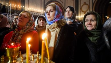 Photo of Are wearing head covers compulsory for females in the church?