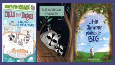 Photo of For Kids Who Love Raccoons-6 Children's Books