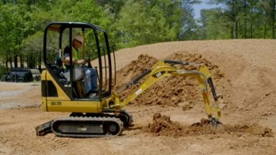 Photo of The types of jobs you can do as a sole trader company by owning an excavator