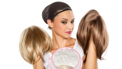 Photo of Human hair wigs for chemotherapy patients