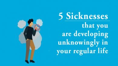 Photo of 5 sicknesses that you are developing unknowingly in your regular life
